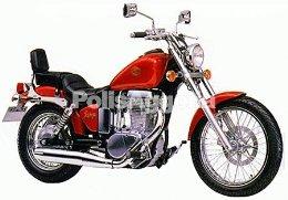Suzuki Savage 652cc Τσόπερ