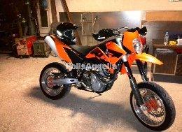 KTM 640 SM 640 LC4 SM 640cc Super Motard